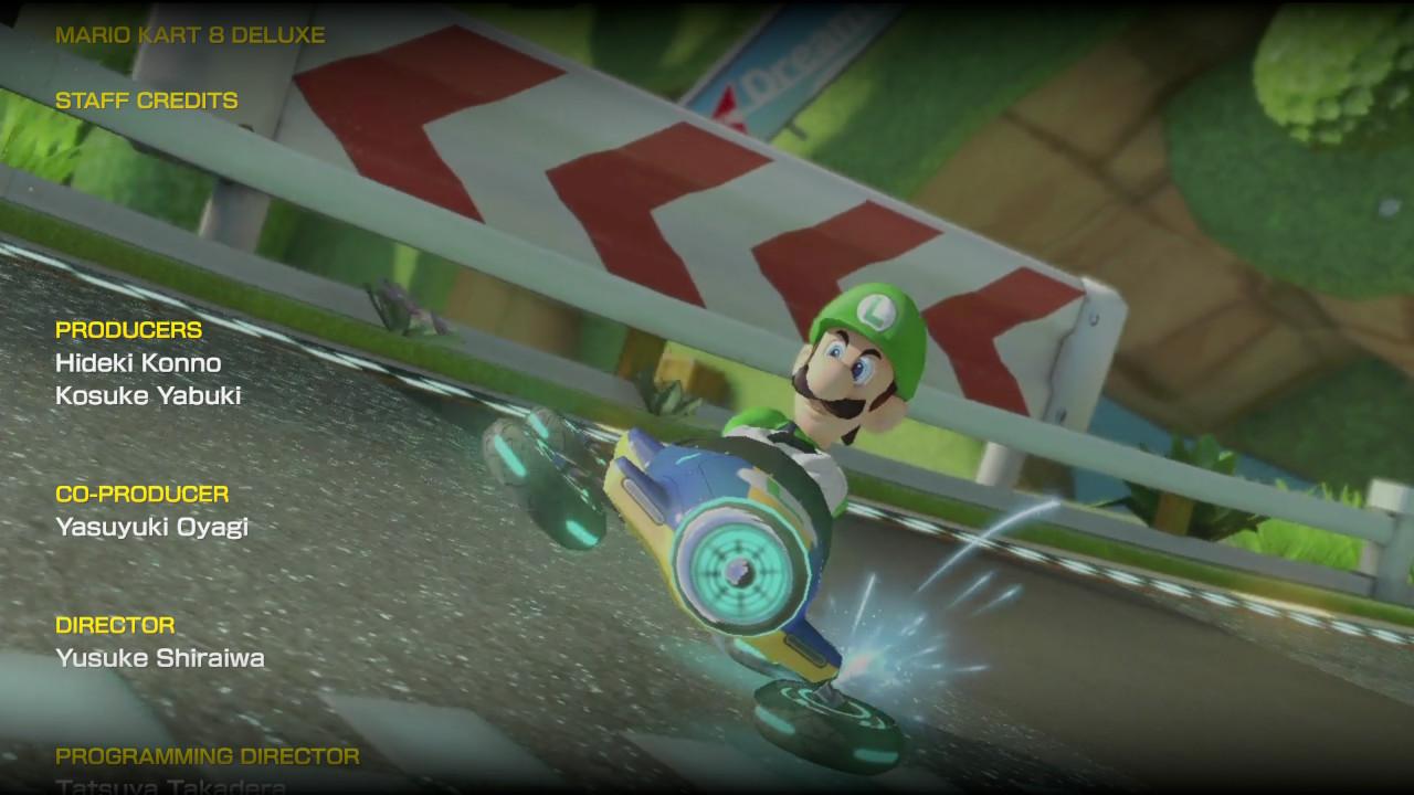 Luigi Mario Kart 8