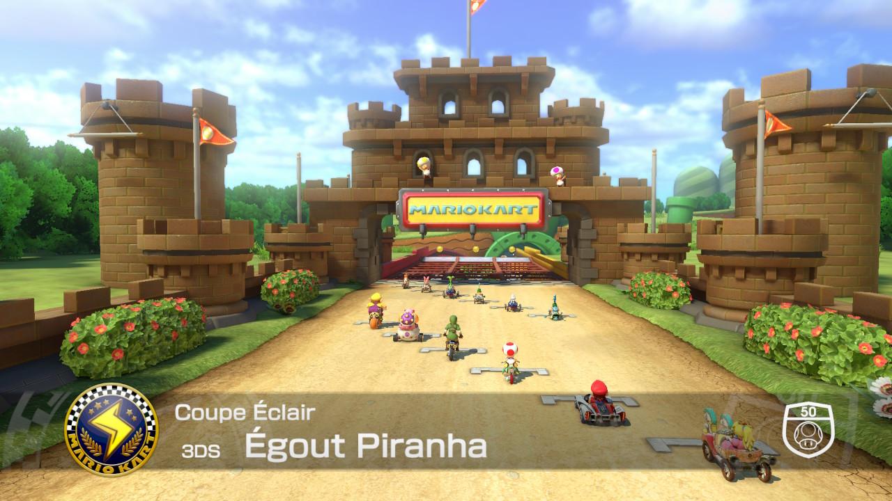 Depart Mario Kart 8