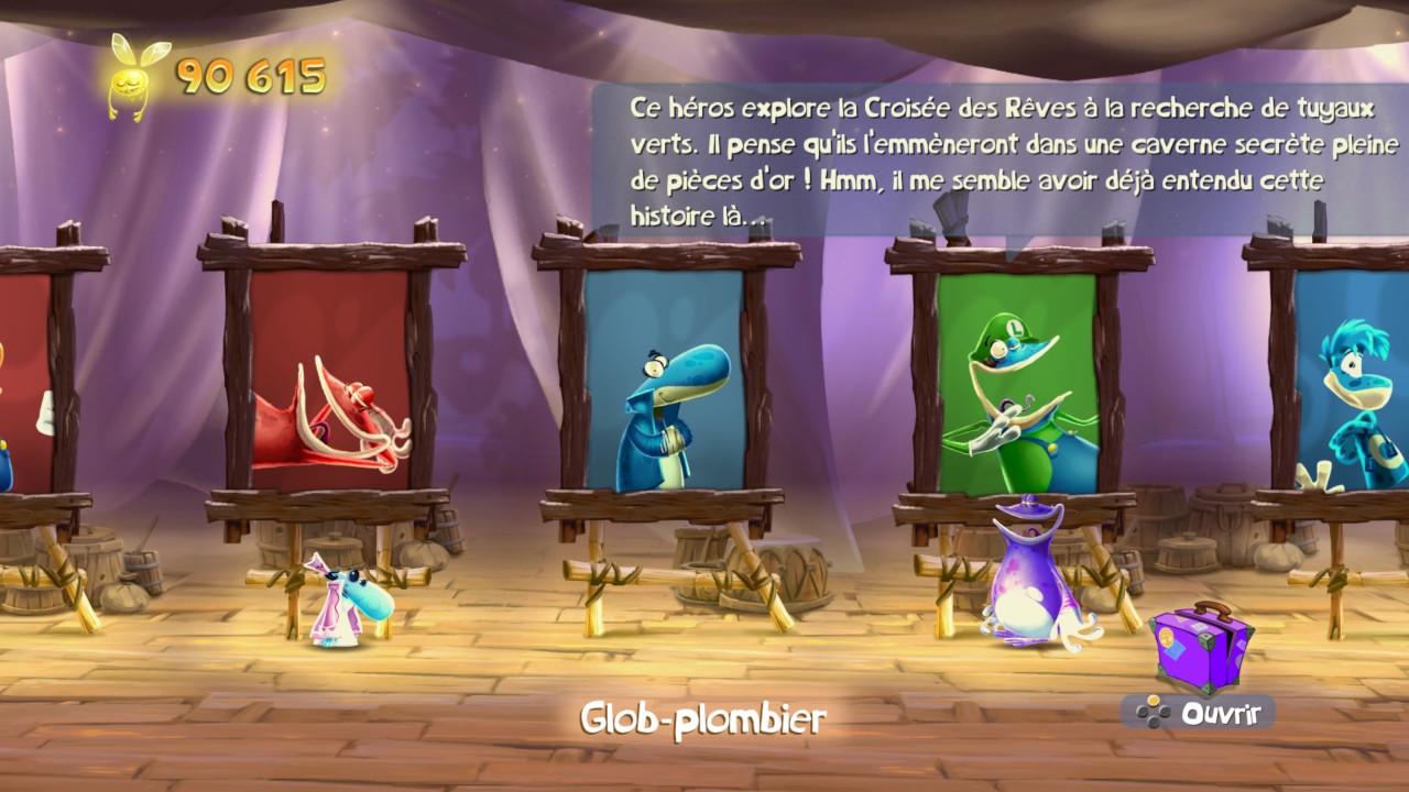 Rayman Legends Luigi