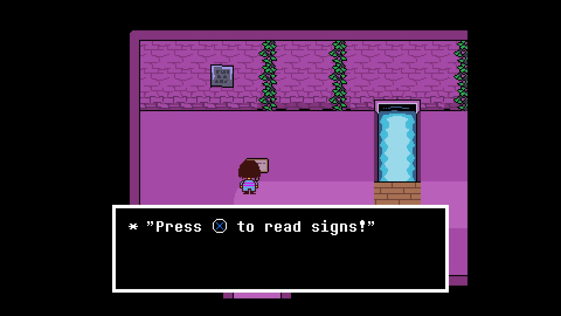 Undertale press X