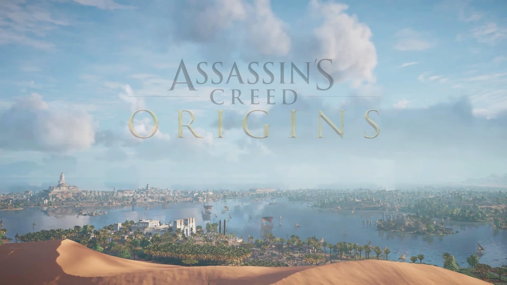 Assassin's Creed® Origins Bannière