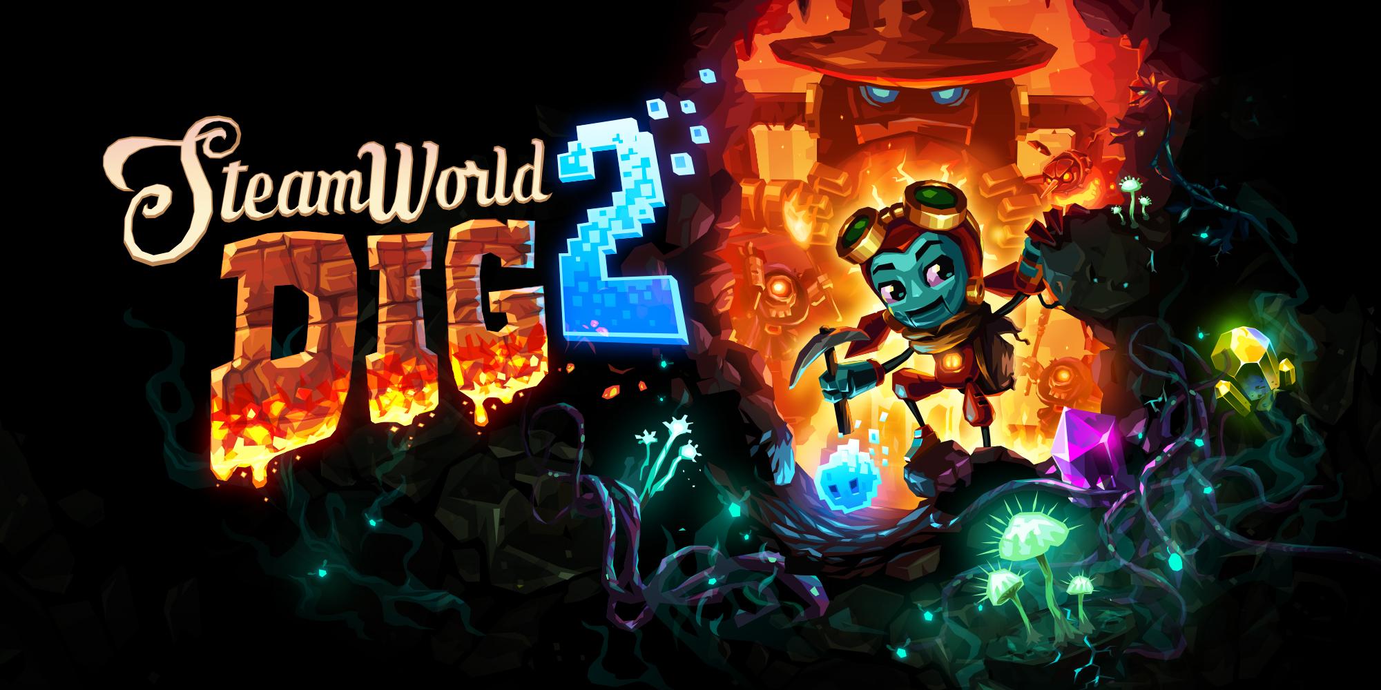 SteamWorld-Dig-2-Banner