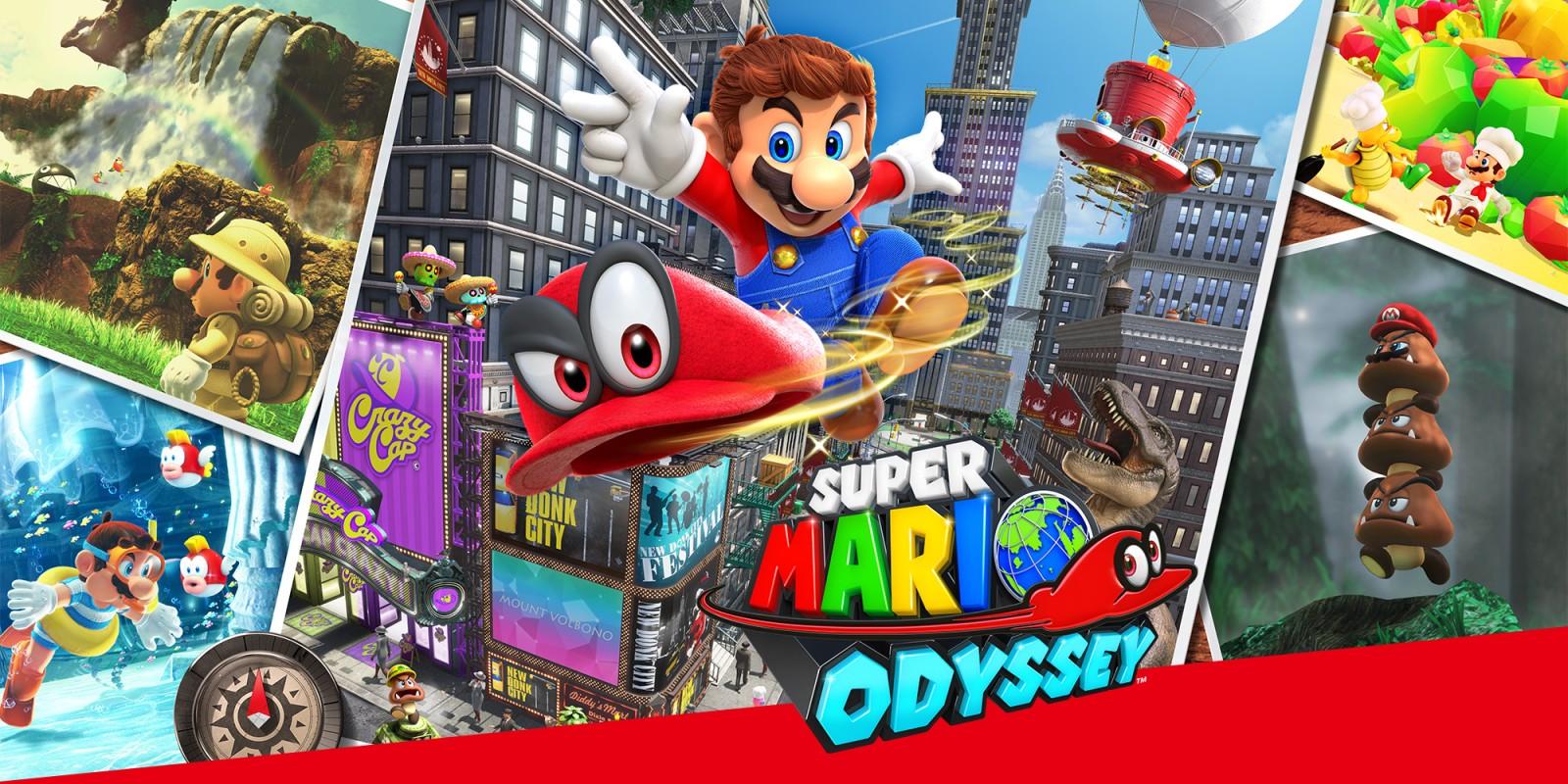 Super Mario Odyssey Banner